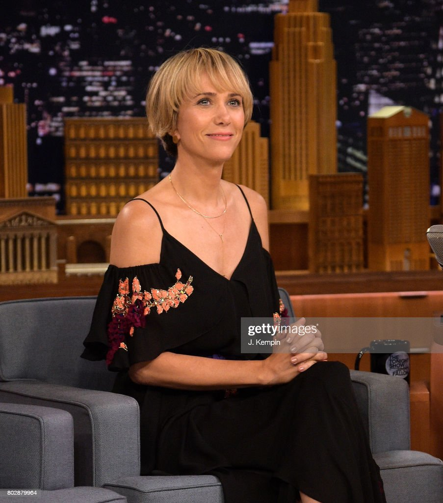 "Kristen Wiig Visits ""The Tonight Show Starring Jimmy Fallon"""