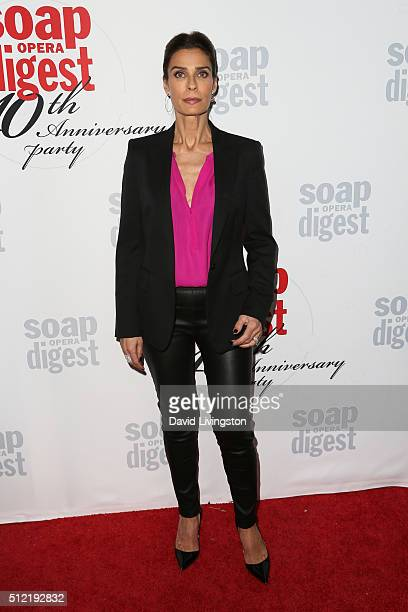Actress Kristian Alfonso arrives at the 40th Anniversary of the Soap Opera Digest at The Argyle on February 24 2016 in Hollywood California