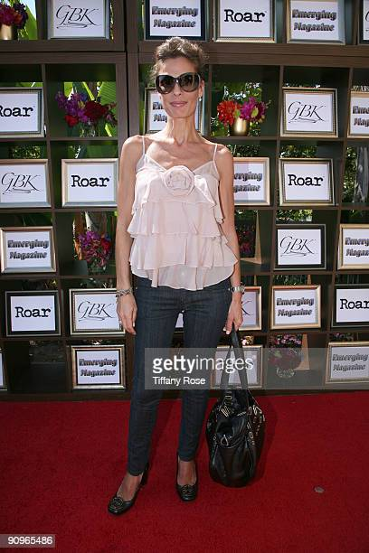Actress Kristian Alfonso attends Day 1 of GBK's 2009 Emmy Gift Lounge on September 18 2009 in Beverly Hills California