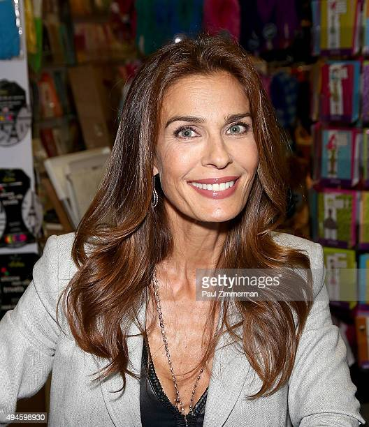 Actress Kristian Alfonso attends 'Days Of Our Lives' Book Signing Books And Greetings In Northvale NJ on October 27 2015 in Northvale New Jersey