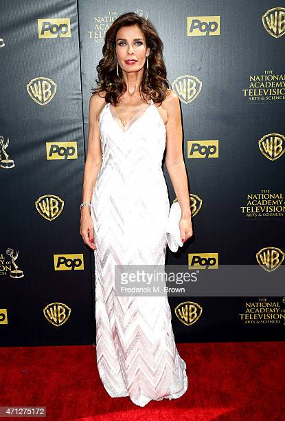 Actress Kristian Alfonso attends The 42nd Annual Daytime Emmy Awards at Warner Bros Studios on April 26 2015 in Burbank California