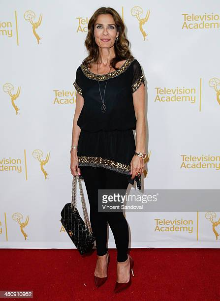 Actress Kristian Alfonso attends the Television Academy Daytime Emmy Nominee reception at The London West Hollywood on June 19 2014 in West Hollywood...