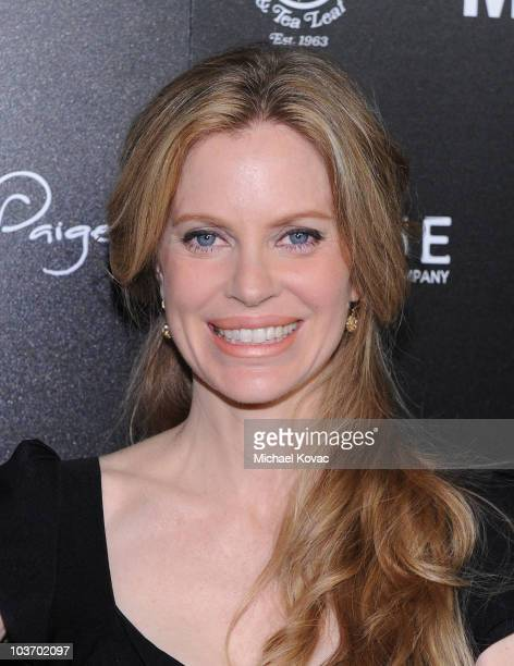 Actress Kristin Bauer arrives at The Art of Elysium's 2nd Annual Genesis Awards at Milk Studios on August 28, 2010 in Hollywood, California.