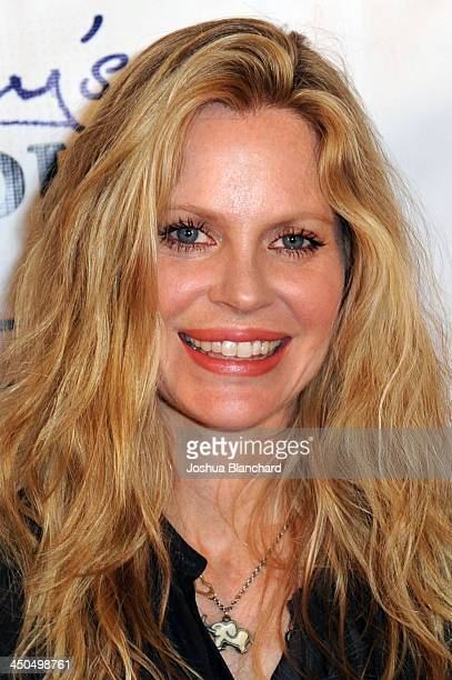 Actress Kristin Bauer van Straten arrives at the Avalon for Kings of Chaos Tokyo Celebrates The Dolphin Benefit Concert on November 18, 2013 in...