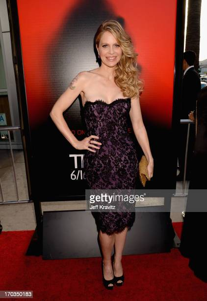 Actress Kristin Bauer van Straten attends HBO's True Blood season 6 premiere at ArcLight Cinemas Cinerama Dome on June 11 2013 in Hollywood California