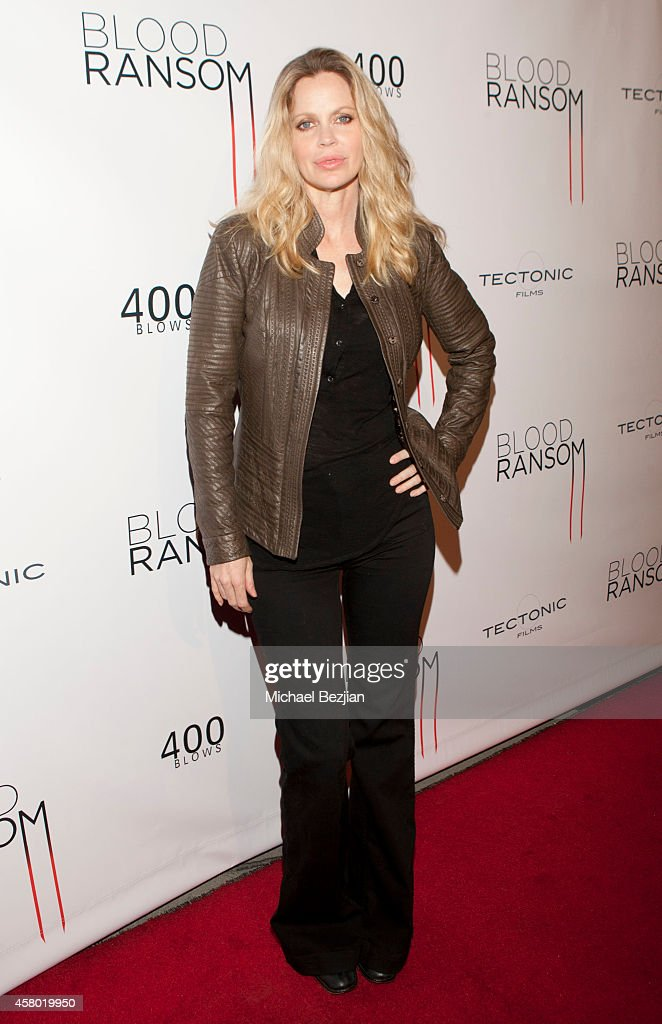 Actress Kristin Bauer van Straten attends the Los Angeles Premiere Of 'Blood Ransom' on October 28, 2014 in Los Angeles, California.