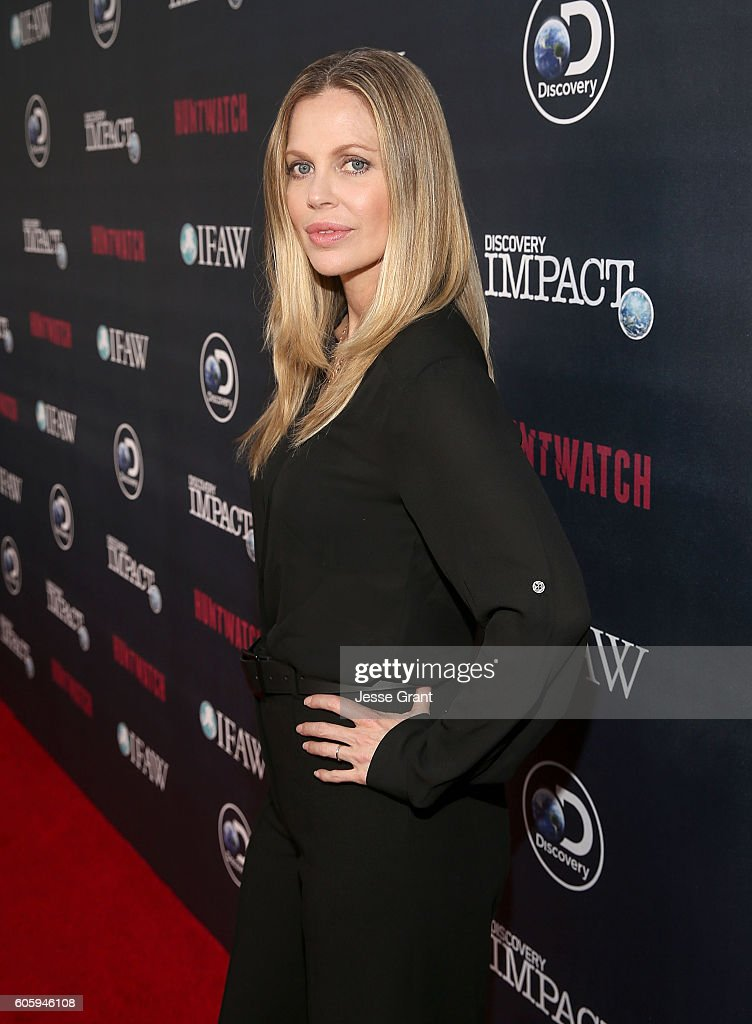 Actress Kristin Bauer van Straten attends the screening of Discovery Impact's 'Huntwatch' at NeueHouse Hollywood on September 15, 2016 in Los Angeles, California.