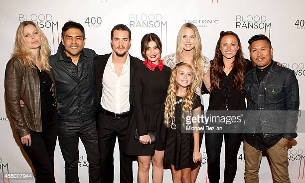 Actress Kristin Bauer van Straten, director Francis dela Torre, actor Alexander Dreymon and actresses Anne Curtis, Emily Skinner, Vanessa Evigan and...
