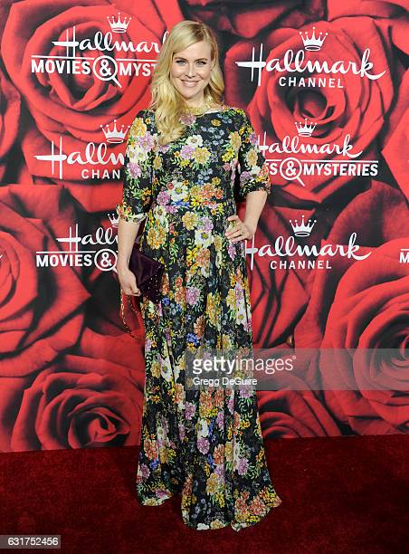 Actress Kristin Booth arrives at Hallmark Channel And Hallmark Movies And Mysteries Winter 2017 TCA Press Tour at The Tournament House on January 14...