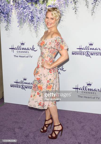 Actress Kristin Booth attends the 2018 Hallmark Channel Summer TCA at Private Residence on July 26 2018 in Beverly Hills California