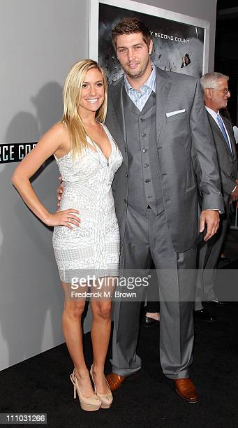Actress Kristin Cavallari and Chicago Bears Quarterback Jay Cutler attend the premiere of Summit Entertainment's Source Code at the Arclight Cinerama...