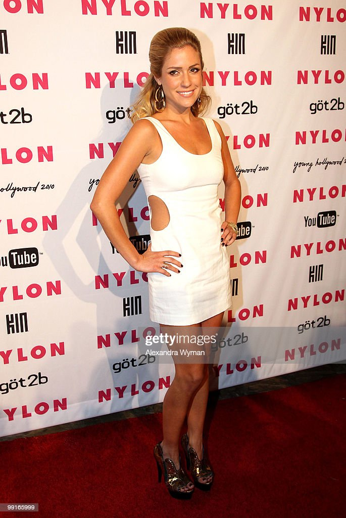 Actress Kristin Cavallari arrives at NYLON'S May Young Hollywood Event at Roosevelt Hotel on May 12, 2010 in Hollywood, California.