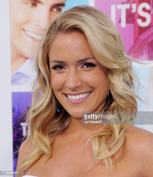 Actress Kristin Cavallari arrives at the Los Angeles Premiere 'Something Borrowed' at Grauman's Chinese Theatre on May 3 2011 in Hollywood California