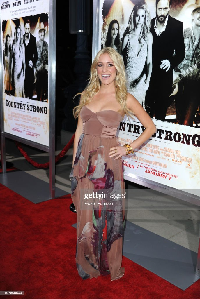 Actress Kristin Cavallari arrives at the screening of Screen Gems' 'Country Strong' at The Academy of Motion Picture Arts & Sciences on December 14, 2010 in Beverly Hills, California.