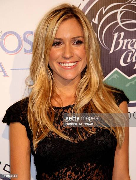 Actress Kristin Cavallari attends the Breeders' Cup Winners Circle event at the ESPN Zone and L A Live on November 5 2009 in Los Angeles California
