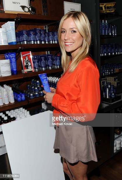 Actress Kristin Cavallari attends the celebration of the Environmental Partnership of Kiehl's Rare Earth Deep Pore Cleansing Masque Benefiting...