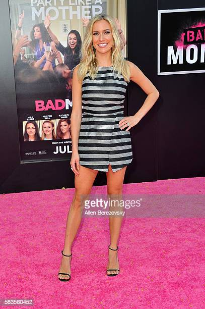 Actress Kristin Cavallari attends the Premiere ff STX Entertainment's Bad Moms at Mann Village Theatre on July 26 2016 in Westwood California