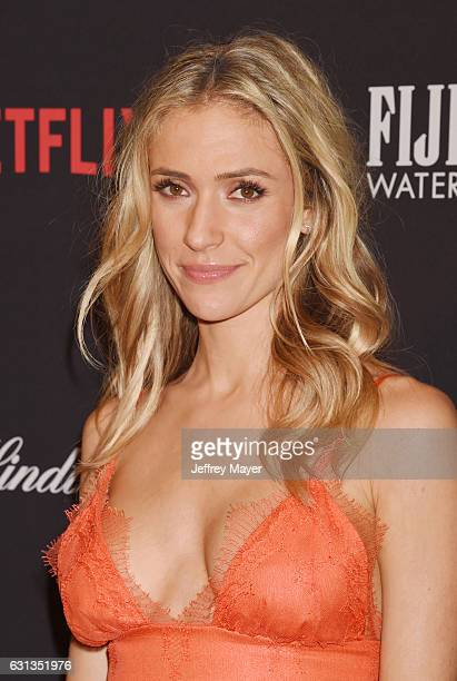 Actress Kristin Cavallari attends The Weinstein Company and Netflix Golden Globe Party presented with FIJI Water Grey Goose Vodka Lindt Chocolate and...