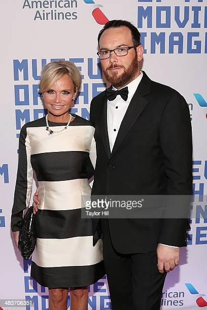 Actress Kristin Chenoweth and producer Dana Brunetti attend the Museum Of The Moving Image 28th Annual Salute Honoring Kevin Spacey at 583 Park...