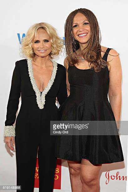 Actress Kristin Chenoweth and writer/professor Melissa HarrisPerry attend PFLAG National's Eighth Annual Straight for Equality Awards Gala at The New...