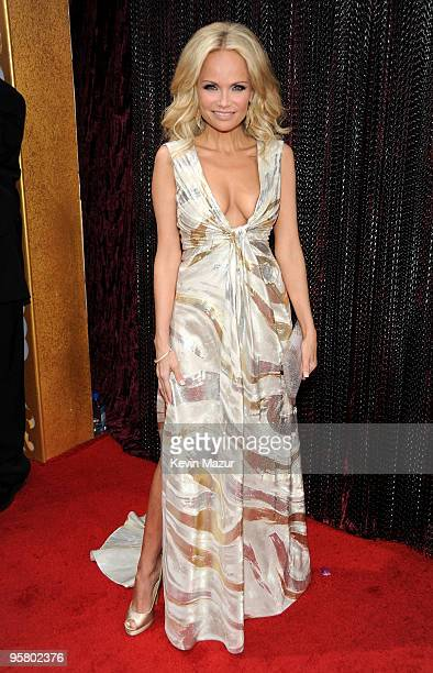 Actress Kristin Chenoweth arrives at the 15th annual Critic's Choice Movie Awards held at the Hollywood Palladium on January 15, 2010 in Hollywood,...