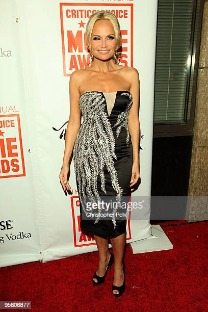 Actress Kristin Chenoweth arrives at the 15th annual Critic's Choice Awards after party held at Katsuya on January 15 2010 in Hollywood California