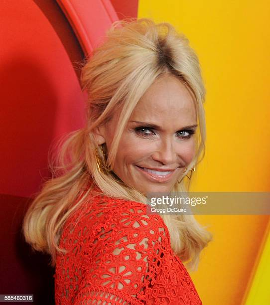 Actress Kristin Chenoweth arrives at the 2016 Summer TCA Tour NBCUniversal Press Tour Day 1 at The Beverly Hilton Hotel on August 2 2016 in Beverly...