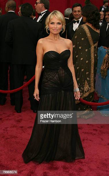 Actress Kristin Chenoweth arrives at the 80th Annual Academy Awards held at the Kodak Theatre on February 24 2008 in Hollywood California