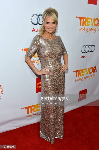 Actress Kristin Chenoweth arrives at Trevor Live honoring Katy Perry and Audi of America for The Trevor Project held at The Hollywood Palladium on...