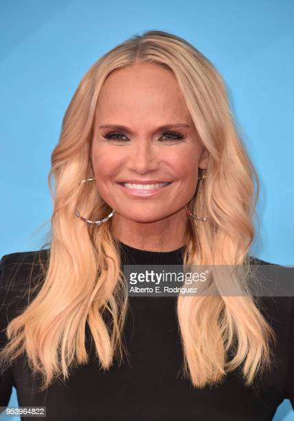 Actress Kristin Chenoweth attends NBCUniversal's Summer Press Day 2018 at The Universal Studios Backlot on May 2 2018 in Universal City California