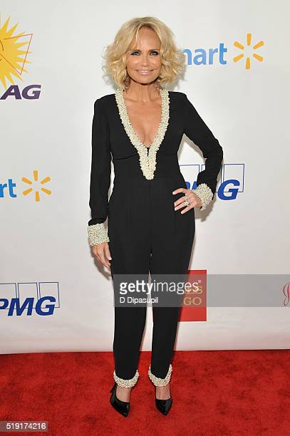 Actress Kristin Chenoweth attends PFLAG National's eighth annual Straight for Equality awards gala at Marriot Marquis on April 4 2016 in New York City