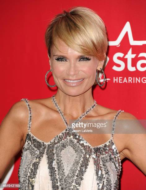 Actress Kristin Chenoweth attends the 2014 MusiCares Person of the Year honoring Carole King at Los Angeles Convention Center on January 24 2014 in...
