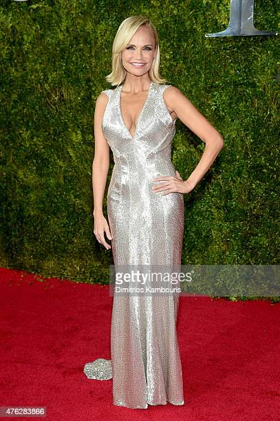Actress Kristin Chenoweth attends the 2015 Tony Awards at Radio City Music Hall on June 7 2015 in New York City