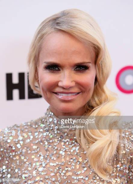 Actress Kristin Chenoweth attends the 2017 Outfest Los Angeles LGBT Film Festival Opening Night Gala of 'God's Own Country' at the Orpheum Theatre on...