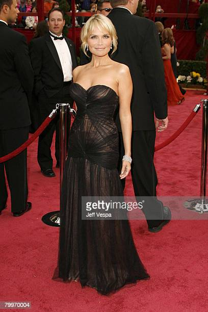 Actress Kristin Chenoweth attends the 80th Annual Academy Awards at the Kodak Theatre on February 24 2008 in Los Angeles California