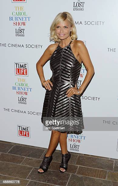 """Actress Kristin Chenoweth attends """"The Carol Burnett Show: The Lost Episodes"""" screening hosted by Time Life and The Cinema Society at Tribeca Grand..."""
