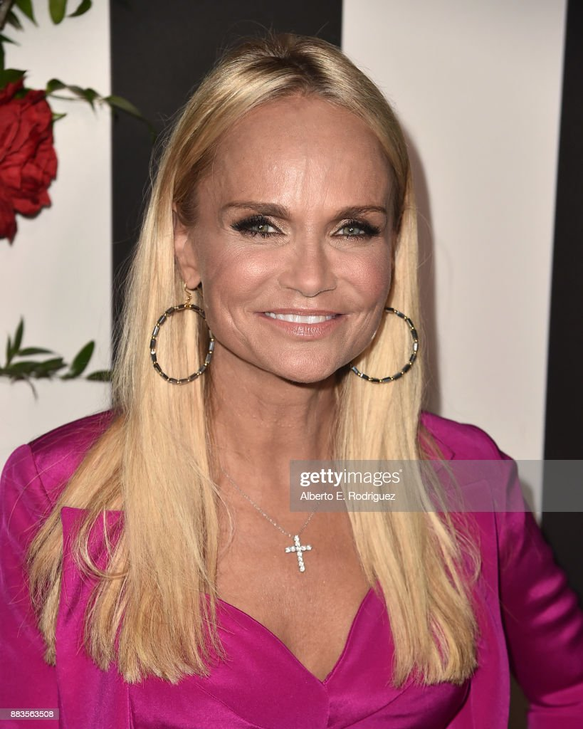 Actress Kristin Chenoweth attends the Land of distraction Launch event at Chateau Marmont on November 30, 2017 in Los Angeles, California.