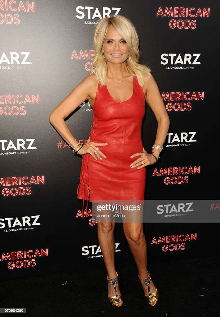 Actress Kristin Chenoweth attends the premiere of 'American Gods' at ArcLight Cinemas Cinerama Dome on April 20, 2017 in Hollywood, California.