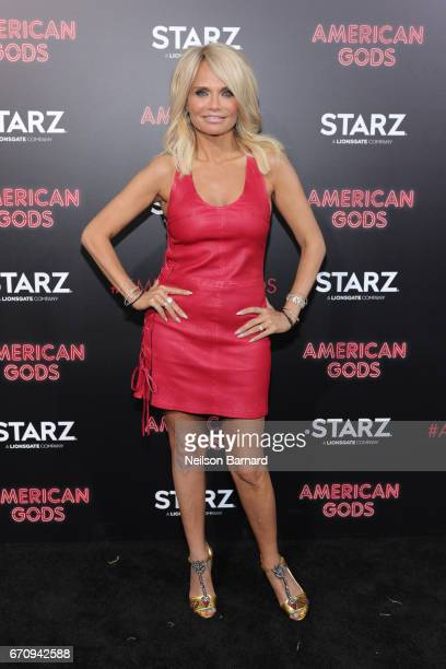 Actress Kristin Chenoweth attends the premiere of Starz's American Gods at the ArcLight Cinemas Cinerama Dome on April 20 2017 in Hollywood California