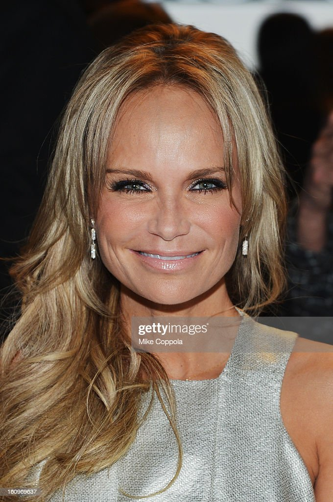 Actress Kristin Chenoweth attends the Project Runway Fall 2013 fashion show during Mercedes-Benz Fashion Week at The Theatre at Lincoln Center on February 8, 2013 in New York City.