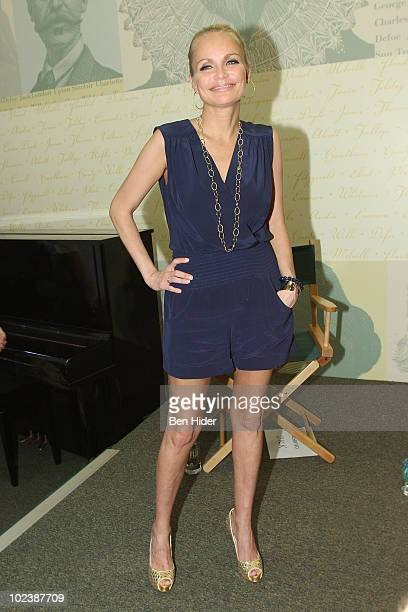 Actress Kristin Chenoweth attends the 'Promises Promises' cast album signing at Barnes Noble Lincoln Triangle on June 24 2010 in New York City