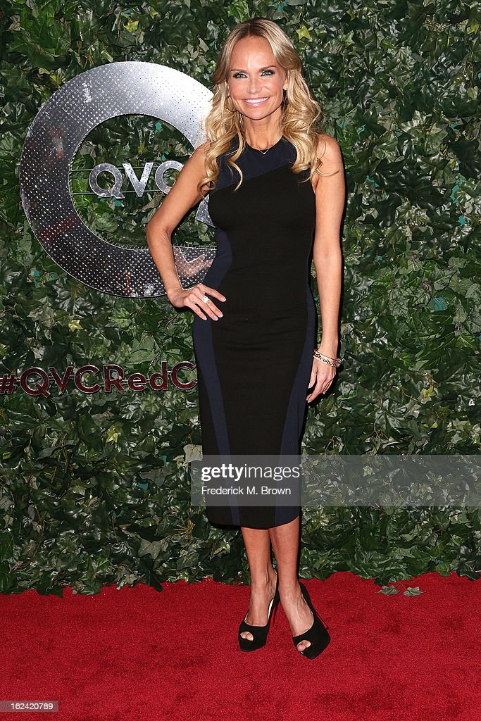 Actress Kristin Chenoweth attends the QVC Red Carpet Style Event, at the Four Seasons Hotel Los Angeles on February 22, 2013 in Beverly Hills, California.
