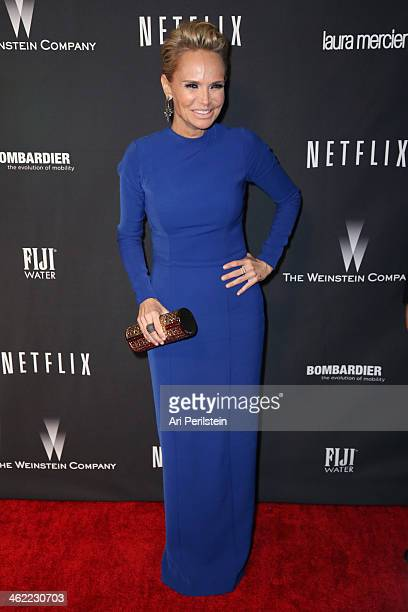 Actress Kristin Chenoweth attends The Weinstein Company Netflix's 2014 Golden Globes After Party presented by Bombardier FIJI Water Lexus Laura...