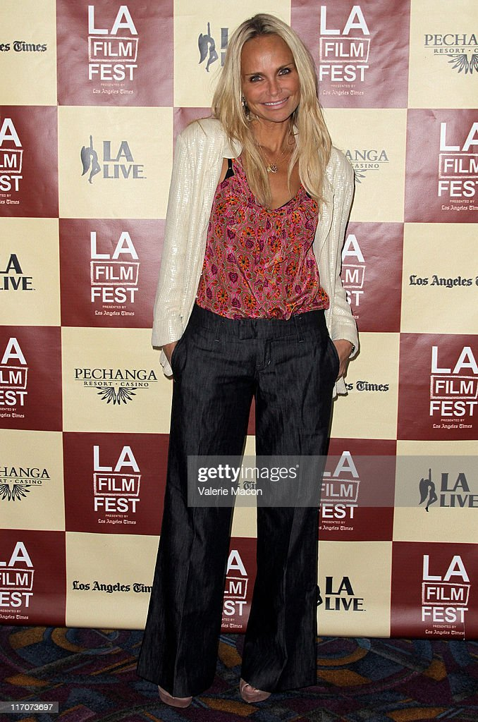 Actress Kristin Chenoweth attends the 'Wish Me Away' Q & A during the 2011 Los Angeles Film Festival held at Regal Cinemas L.A. LIVE on June 20, 2011 in Los Angeles, California.