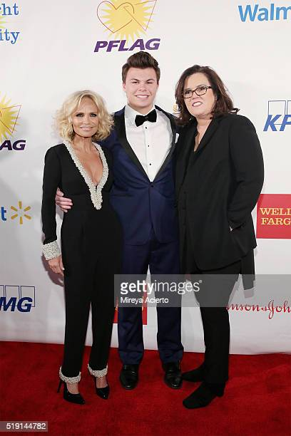 Actress Kristin Chenoweth Blake Christopher O'Donnell and comedian Rosie O'Donnell attend the PFLAG National's Eighth Annual Straight for Equality...