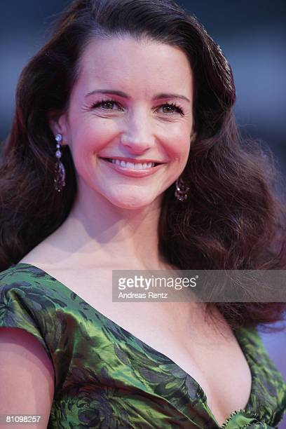 Actress Kristin Davis arrives at the German premiere of 'Sex And The City' at the cinestar on May 15 2008 in Berlin Germany