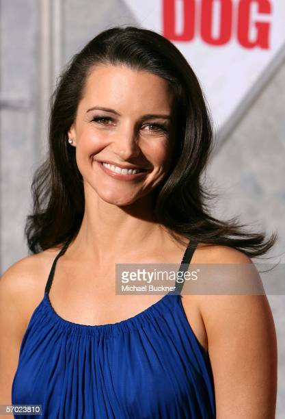 Actress Kristin Davis arrives at the premiere of Walt Disney Pictures' The Shaggy Dog at the El Capitan Theatre on March 7 2006 in Los Angeles...