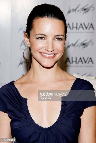 Actress Kristin Davis attends Lord And Taylor on June 10 2009 in New York City