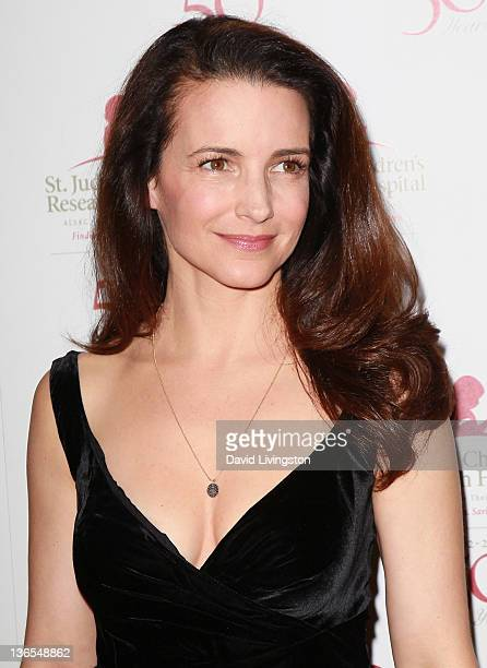 Actress Kristin Davis attends the 50th anniversary celebration for St Jude Children's Research Hospital at The Beverly Hilton hotel on January 7 2012...