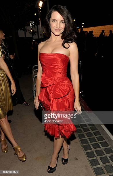 Actress Kristin Davis attends The Artist's Museum Happening MOCA Los Angeles Gala sponsored by Chanel Fine Jewelry cocktail reception held at MOCA...